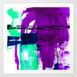 Teal Splendor No.1e by Kathy Morton Stanion Art Print