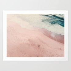 sea of love III Art Print