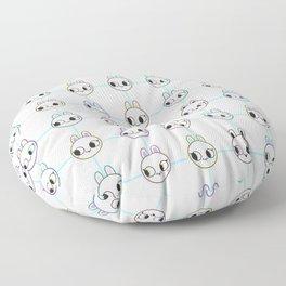 Spoopy little buns Floor Pillow