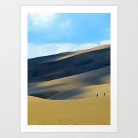 Sand Dunes #1 Art Print