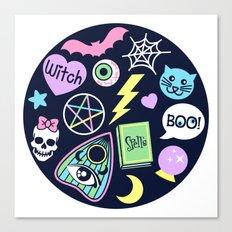 Spooky Babe Canvas Print
