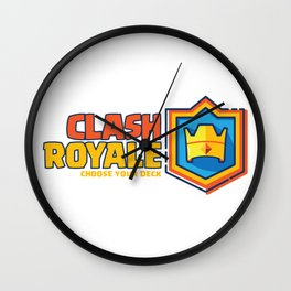 Clash Royale Wall Clock