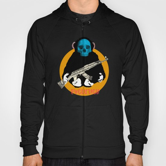 Evolution - (The MonkeyMan & The Gun) Hoody