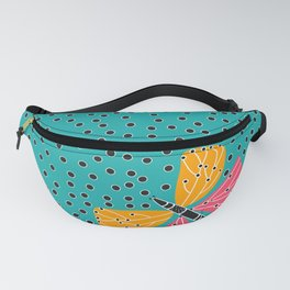 Butterfly with dots Fanny Pack