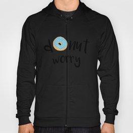 Donut Worry Blue Hoody