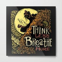 Lion's Breath Metal Print