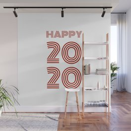 Happy 2020 Wall Mural
