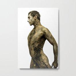 Oro tierra Metal Print