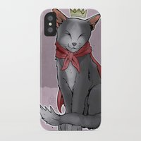 sith iPhone & iPod Cases featuring Cait Sith by poopbird