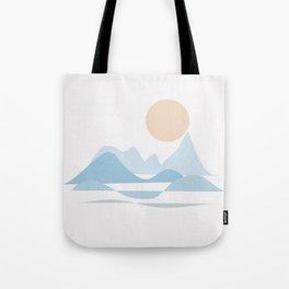 NORTHERN SEA #society6 #buyart #decor Tote Bag