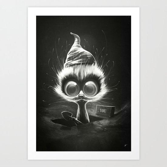 Night Shift (夜勤) Art Print
