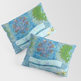 Paradoxism Being Flowers  ID:16165-073708-09691 Pillow Sham