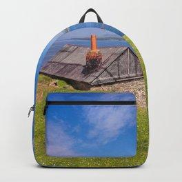 Fisherman`s Hut Backpack