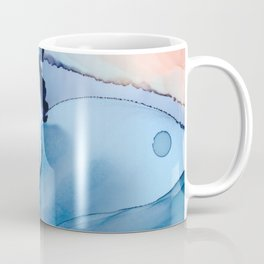 Blessing Fluid ink abstract watercolor Coffee Mug