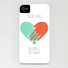 I wanna hold your hand Slim Case iPhone (4, 4s)