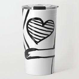 My Heart Travel Mug