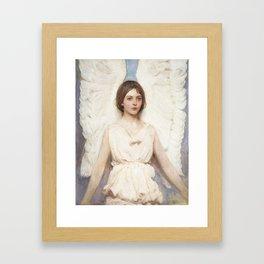 Angel, 1887 by Abbott Handerson Thayer Framed Art Print