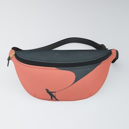 Night fills up the sky Fanny Pack