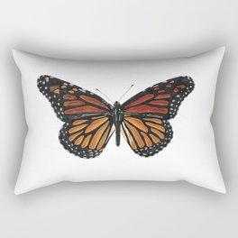 Mystical monarch butterfly Rectangular Pillow
