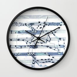 Notes To Self Wall Clock