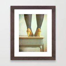 My Pretty Power Framed Art Print