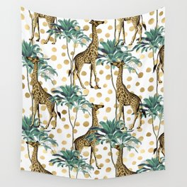 Giraffe Safari Wall Tapestry