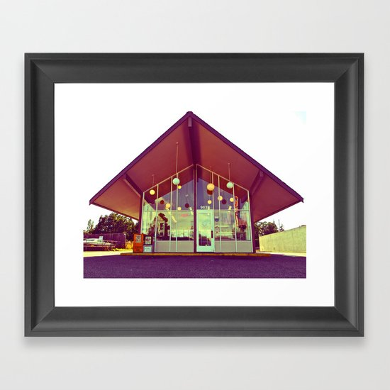 House of Donuts Framed Art Print