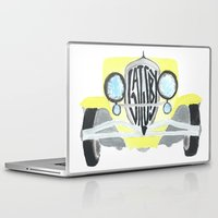 the great gatsby Laptop & iPad Skins featuring Gatsby by S. L. Fina