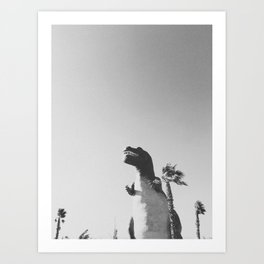 DINO / Cabazon Dinosaurs, California Art Print
