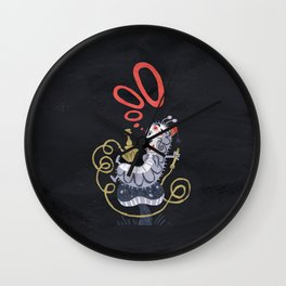 Caterpillar - Alice in Wonderland Wall Clock