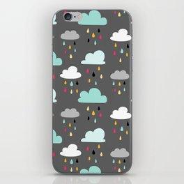 Rainy day iPhone Skin