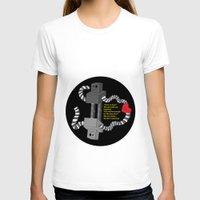 robot T-shirts featuring Robot by D64d