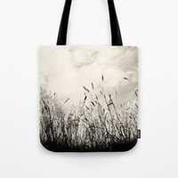 grass Tote Bags featuring Grass by Angela Fanton
