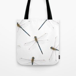 Dragonfly pattern Tote Bag