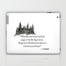 WELCOME HOME // HOGWARTS  Laptop & iPad Skin