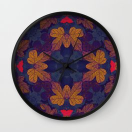 Mandala II Wall Clock