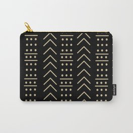 Mudcloth Black II Carry-All Pouch