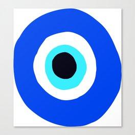 Evil Eye Talisman Lucky Charm Canvas Print