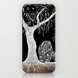 A Branch of Life to Contemplate iPhone Case