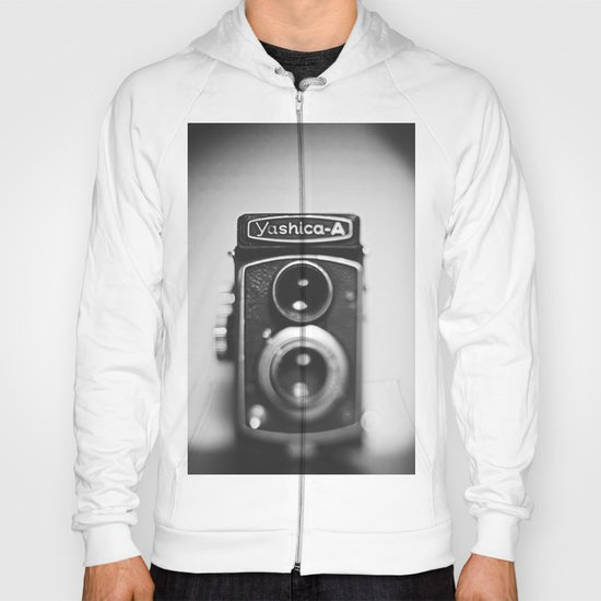 Yashica-A black and white Hoody