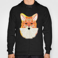 Fox in Blue Hoody