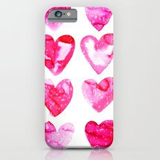 Heart Speckle iPhone 6s Slim Case