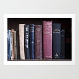 Bookworms Art Print