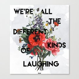 Laughing Canvas Print
