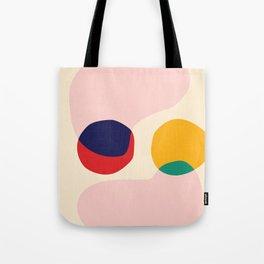 happy shapes Tote Bag