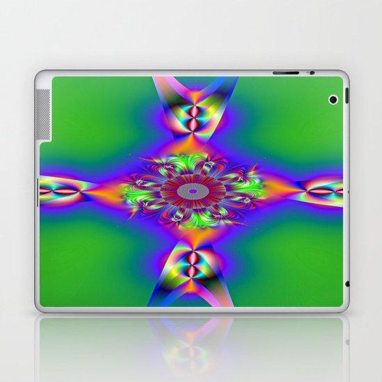 FishTail cross Laptop & iPad Skin