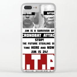 Jim is Old! Clear iPhone Case