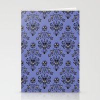 haunted mansion Stationery Cards featuring Phantom Manor - Haunted Mansion by Katikut