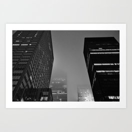 Midnight Noir Art Print