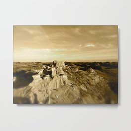 Rocky Mountain Sky Metal Print
